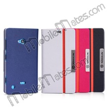 Nillkin Flip Stand Leather +PC Protective Case for Nokia Lumia 720 High Quality Phone Cover