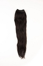 100% Peruvian virgin remy human hair machine weft with double stitching at hse hair pvt. ltd