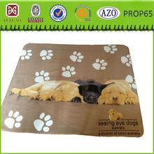Home pet fleece dog blanket