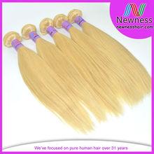 white girl virgin blonde hair extensions