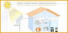 Solar Home Light System with 10 Watt Solar Panel