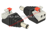 2.5mm / 5.5mm power 10a 12V male dc power connector dc plug connector