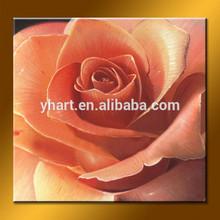 Wholesale handmade pink rose oil painting