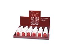OEM Customized cardboard desk display for hand cream