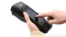 Integrated Mobile POS Terminal with 3G, Barcode reader, MSR, Contact card, Contactless card, Printer