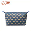 Special cosmetic bag with pocket mesh tote bag pattern
