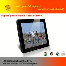 "SH1212DPF digital photo / frame mp4 and digital frame 12"""