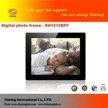 SH1212DPF hot sell fashionable model 12 inch digital photo f