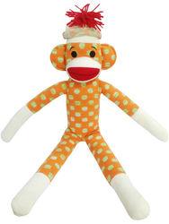 knit monkey with jacquard fabric