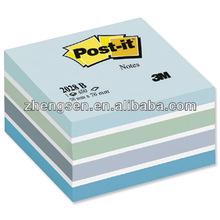 Colorful blu erasable sticky note
