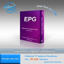 Digital TV EPG software-Electronic Program Guide