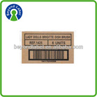 Waterproof printing laminated material self adhesive kraft paper label sticker printing