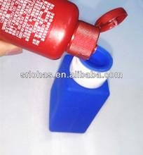 wholesale custom silicone rubber portable drink/ drinking travel bottle/gel holder