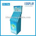 taşınabilir zemin led karton standı led ışıklar ampul