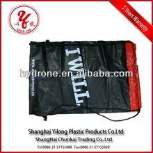 plastic bag with rope handle