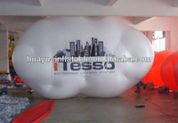 iTesso Enterprise Lodging System Inflatable Helium Balloon Cloud Balloon White For Sale Advertisement Self Inflating Balloons