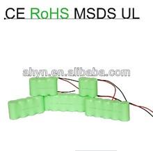 6V D 9000mAh NiMH battery pack/ power tool battey