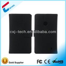 Leather Cover for Nokia Lumia 520 Flip Leather Case for Nokia Lumia 520 Mobile Cover for Nokia 520