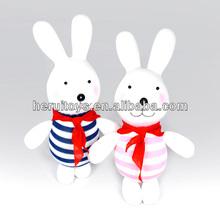 little lcute plush toy sock doll rabbit& customized stuffed sock toy&hot sale sock doll