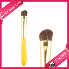 Candy Series Lemon Pie Private Label Best Sell Pure Horse Hair Make Up Brush