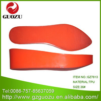 transparent tpu clear shoe soles to buy