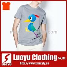 Latest fashion customised bamboo t shirt