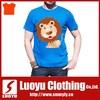 Super soft 100% cotton custom xxxl tshirt men