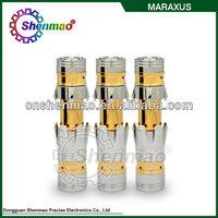 2014 Alibaba new arrival e cig mecanical maraxus mod made in china