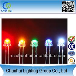 High Quality ! High-brightness LED display 5mm straw hat led