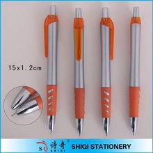 orange grip design good looking pen