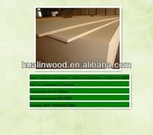 Supply thickness 6mm Plain MDF-Furniture Board/Medium Density Fibreboard