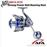 Wholesale rib trailer spinning fishing reel with Ball Bearing 6+1 JSM14-1018