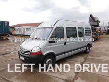 Utilizan los autobuses- nissan interstar autocares autobuses( lhd 99747 diesel)