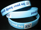 eco-friendly and harmless cheap silicone wristband engravable