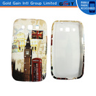 Mobile Phone Accessory Water Printing PC Case For Samsung I8552
