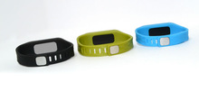 wristband pedometer silent clock watches pandora