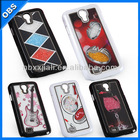 2014 wholesale Fashion Luxury design Bling Bling crystal mobile rhinestone phone case for iphone (OBS-M4007)