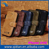 Best for iphone 4 case flip wallet case with card slots and phone holder function