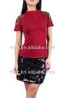 new across fashion ladies top blouse woman clothing wholesale clothes cotton kurta neck designs