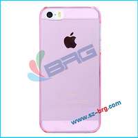 BRG-Hot selling for iphone 5&5s crystal clear case,Plastic cover for iphone5&5s