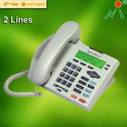 Landline telephone intercom phone with telephone for hotel/office