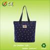 2014Fashion portative chevron cotton tote bag