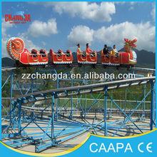 Carnival Amusement Park Attraction mini train Slide Dragon