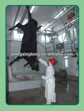 Rinder Schlachthof ausrüstung Schlachtung maschinen( Aderlass förderleitung)