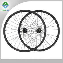 650c rim carbon cross-country bicycle 26er clincher MTB wheels 33mm width 30mm profile mountain bike novatec hub 10\11 speed