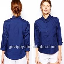 Dress Shirt Formal Women Shirt Office Ladies Shirt