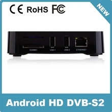 Android Tv Box Dvb Android 4.0 Smart Tv Shenzhen android hd receiver Operator Android Tv Box Dvb