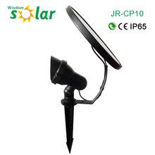 Solar powered 1w LED spotlight Spot Light Lamp Garden IP65