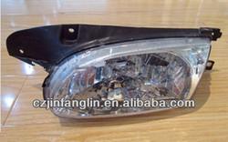 HIGH QUALITY HYUNDAI ACCENT 98-99 HEAD LAMP CRYSTAL ACCENT 98 CRYSTAL HEAD LAMP OEM R 92102-22850 L 92101-22850