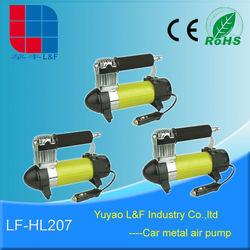 best mini electric car accessory tire repairing / sport ball inflators tool air compressor pump parts LF-HL207